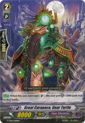Great Carapace, Gear Turtle - G-TD01/008EN - TD