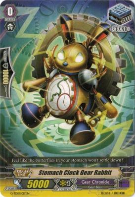 Stomach Clock Gear Rabbit - G-TD01/017EN - TD