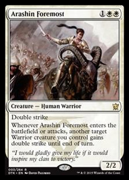 Arashin Foremost - Foil