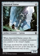 Ancestral Statue - Foil on Channel Fireball