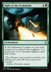Sight of the Scalelords - Foil