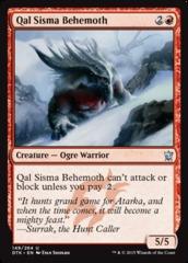 Qal Sisma Behemoth - Foil