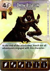 Drow Assassin - Paragon Humanoid (Card Only)