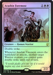 Arashin Foremost - Foil - Prerelease Promo