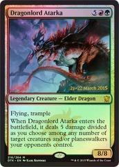 Dragonlord Atarka (Dragons of Tarkir Prerelease Foil) on Channel Fireball