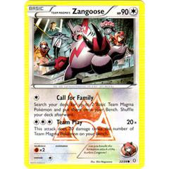 Team Magma's Zangoose - 22/34 - Common