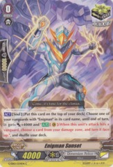 Enigman Sunset - G-EB01/034EN - C on Channel Fireball