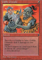 Goblin Grenade (Dan Frazier) on Channel Fireball