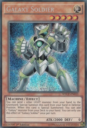 Galaxy Soldier - WSUP-EN010 - Prismatic Secret Rare - 1st Edition