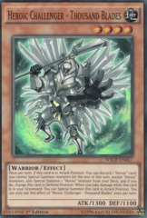 Heroic Challenger - Thousand Blades - WSUP-EN017 - Super Rare - 1st Edition