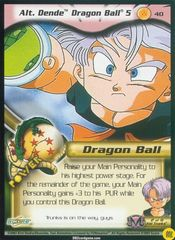 Alt. Dende Dragon Ball 5