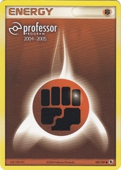 Fighting Energy - 105/109 - Promotional - Professor Program 2004-2005