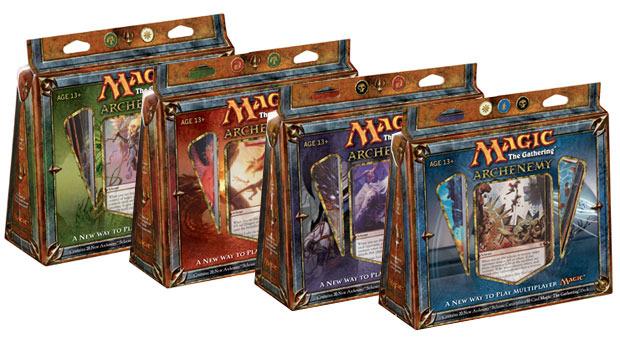 Archenemy: All 4 Decks (English)