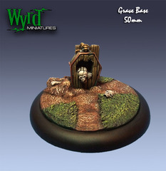 Wyrd Base Inserts - Graveyard - 50mm