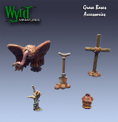 Wyrd Base Inserts - Graveyard - Base Accessories