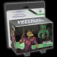 Star Wars Imperial Assault: Hired Guns Villain Pack © 2015 SWI16
