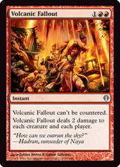 Volcanic Fallout on Channel Fireball