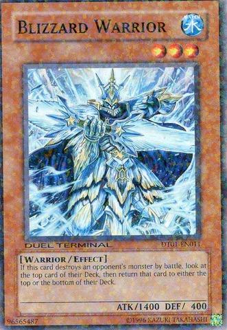Blizzard Warrior - DT01-EN011 - Parallel Rare - Duel Terminal