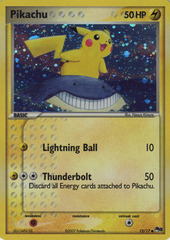 Pikachu - 12/17 - Common - Cosmos Holo