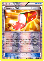 Trainers' Mail - 92/108 - Uncommon - Reverse Holo