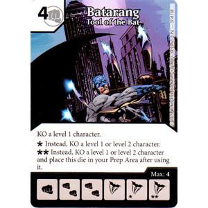 Batarang - Tool of the Bat (Die & Card Combo Combo)