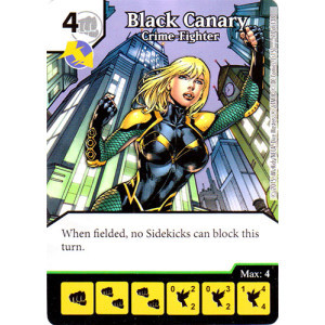 Black Canary - Crime-Fighter (Die & Card Combo Combo)