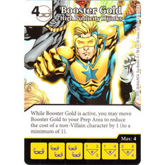 Booster Gold - High Publicity Hijinks (Die & Card Combo Combo)