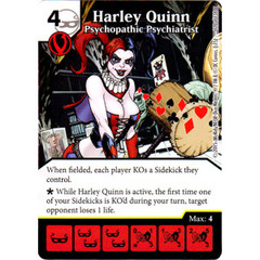 Harley Quinn - Psychopathic Psychiatrist (Die & Card Combo Combo)