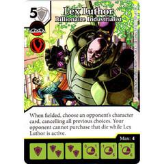 Lex Luthor - Billionaire Industrialist (Card Only)