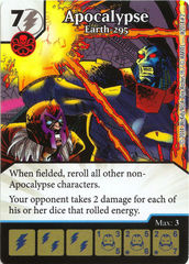 Apocalypse: Earth-295 - Marvel Dice Masters Promo