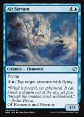Air Servant - Foil on Channel Fireball