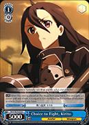 Choice to Fight, Kirito - SAO/SE23-E29 - C - Foil