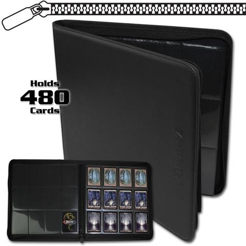 BCW Z-Folio 12-Pocket LX Album - Black