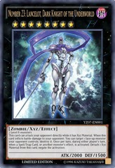 Number 23: Lancelot Dark Knight of the Underworld - YZ07-EN001 - Ultra Rare - Limited Edition **In-Stock Ready to Ship!!!