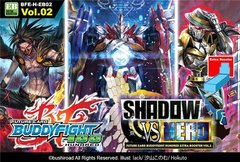H-EB02 Shadow VS Hero (English) Future Card Buddyfight Extra Booster Pack