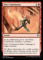 Fiery Conclusion - Foil
