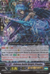 Arduous Battle Knight, Claudas - G-LD01/009EN - RRR on Channel Fireball