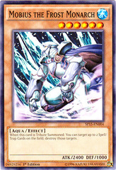 Mobius the Frost Monarch - SP15-EN004 - Common - 1st Edition on Channel Fireball