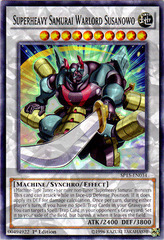 Superheavy Samurai Warlord Susanowo - SP15-EN034 - Shatterfoil - 1st Edition