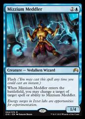 Mizzium Meddler - Foil