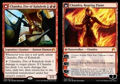 Chandra, Fire of Kaladesh // Chandra, Roaring Flame (ORI)