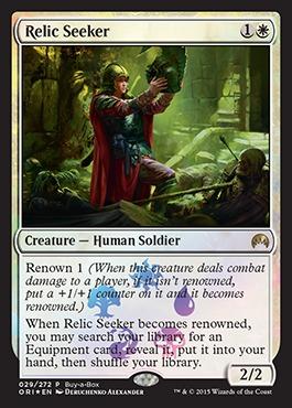 Relic Seeker (Magic Origins Buy-a-Box Promo)