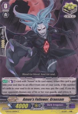 Amon's Follower, Grausam - G-BT03/099EN - C