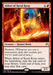 Abbot of Keral Keep on Channel Fireball