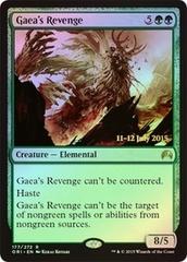 Gaea's Revenge - Foil - Prerelease Promo