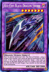 Red-Eyes Black Dragon Sword - DRL2-EN012 - Secret Rare - 1st Edition on Channel Fireball