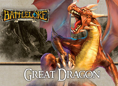 BattleLore (Second Edition): Great Dragon Reinforcement Pack