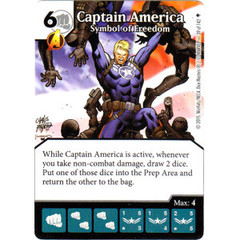 Captain America - Symbol of Freedom (Die & Card Combo)
