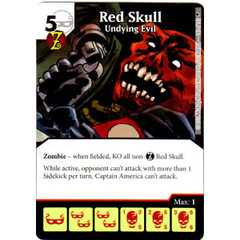 Red Skull - Undying Evil (Die & Card Combo)