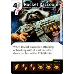 Rocket Raccoon - Smartest Mammal In The D'ast Galaxy (Card Only)